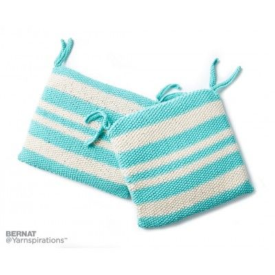Bernat Knit Seat Cushion | Knitting | Pinterest | Accesorios