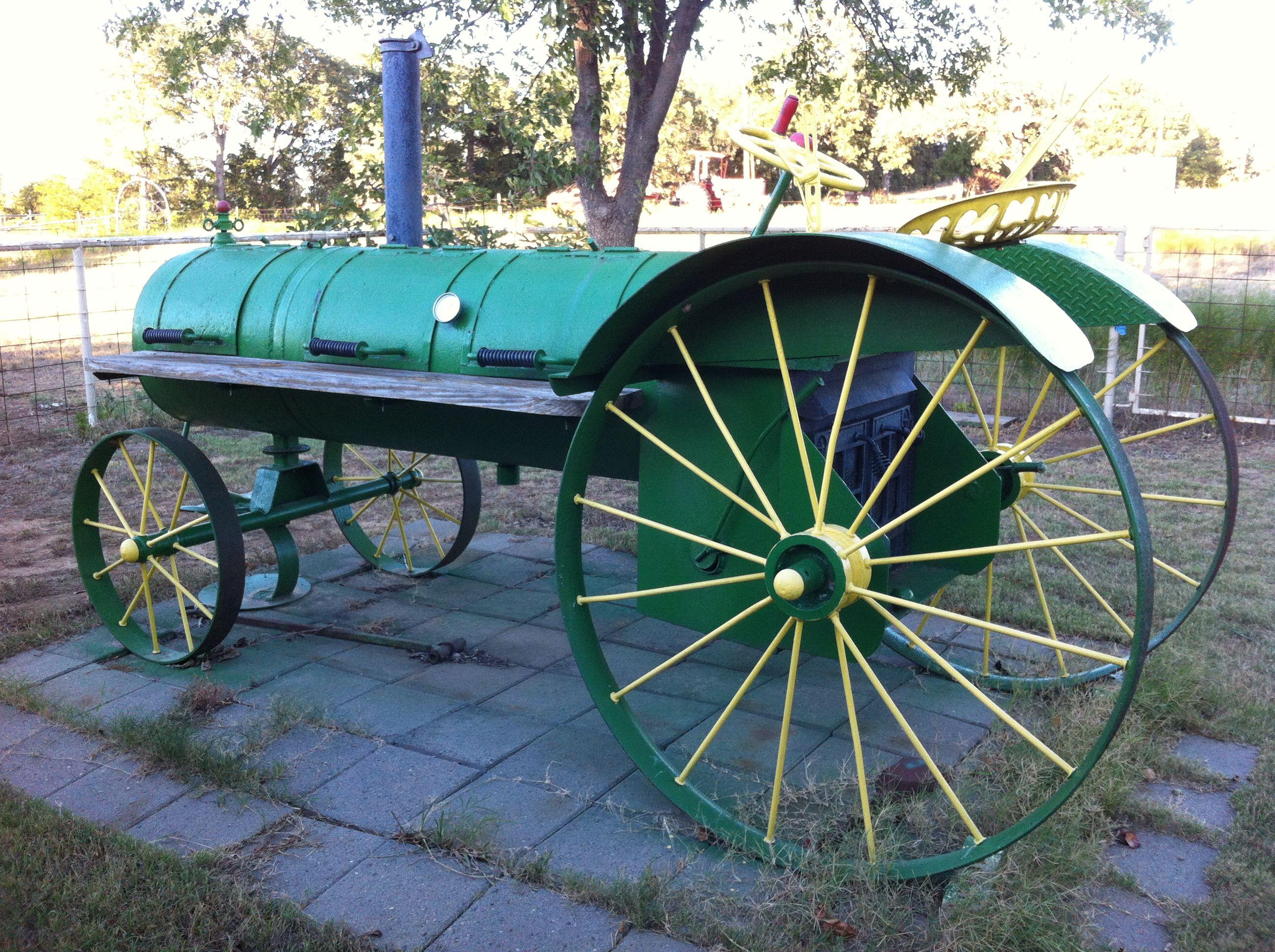tractor style smoker (homemade) | Smoker und Grill | Pinterest | Bilder