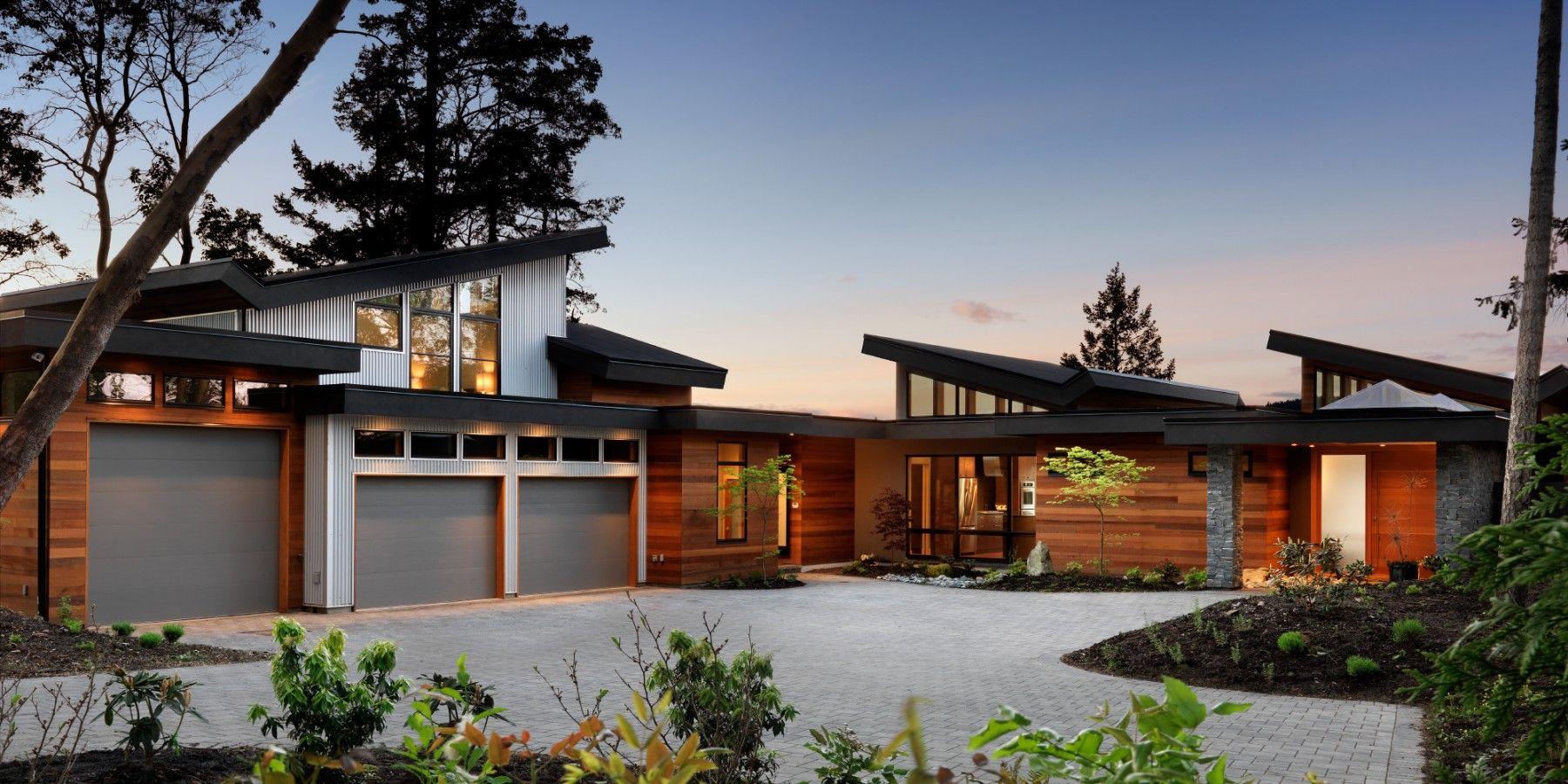 Kb Design Keith Baker Custom Home Design Victoria Vancouver Island Contemporary House Plans Modern House Design Architecture House