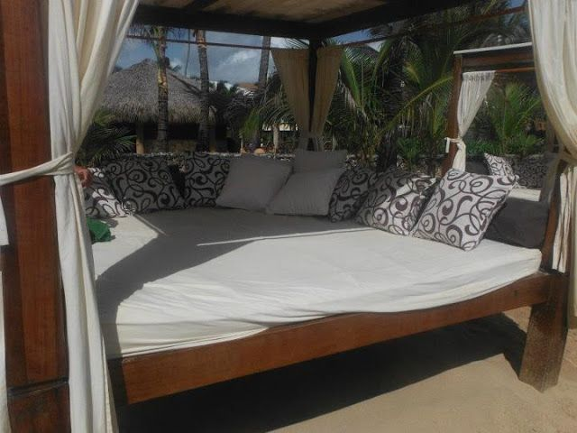 Pool Beds excellence resorts cabana beds to enjoythe pool or on the