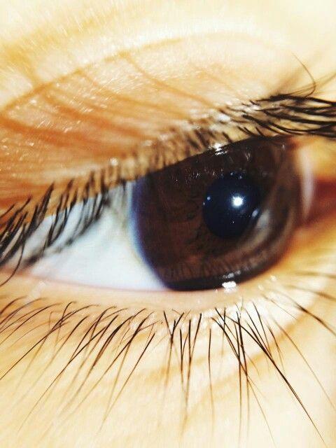 My Mina's eye ; )