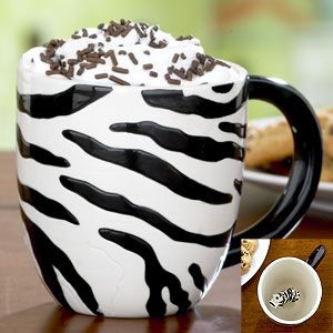 I have a small---maybe unhealthy---obssesion with coffee mugs. I can't help it!