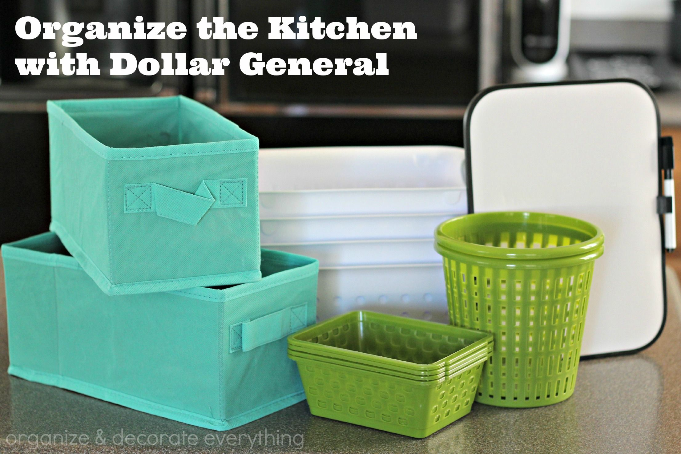 Organize The Kitchen With Dollar General Organization Dollar Tree Organization Home Organization