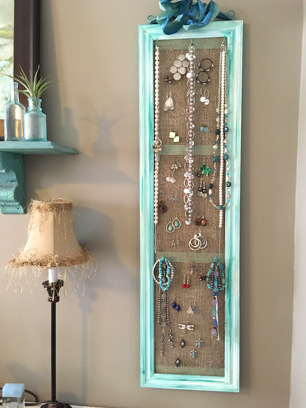 DIY Jewelry Organizer | The Home Depot Community | creations ...
