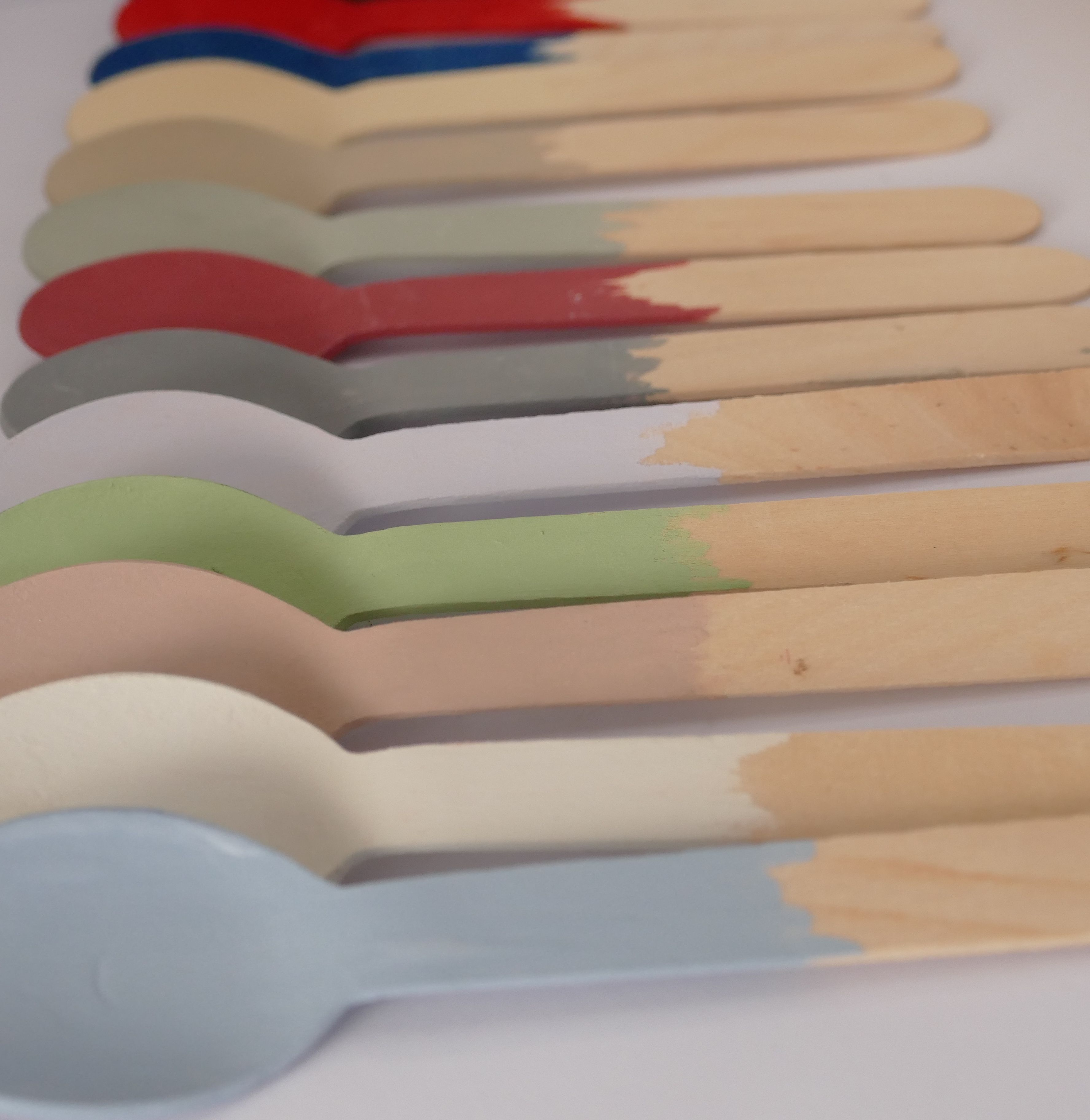awesome newtons chalk finish paint colours powder blue in the front