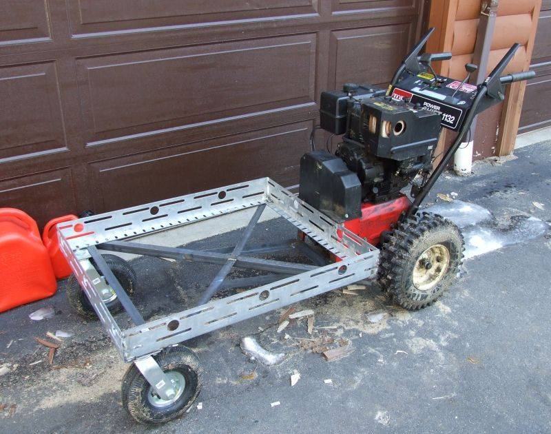 Converting Atv Snowblower