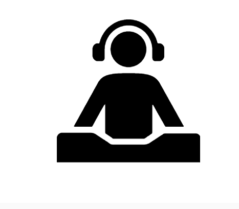 Dj Icon In Android Style This Dj Icon Has Android Kitkat Style If You Use The Icons For Android Apps We Recommend Using Our Latest Mate Icon Android Icons Dj