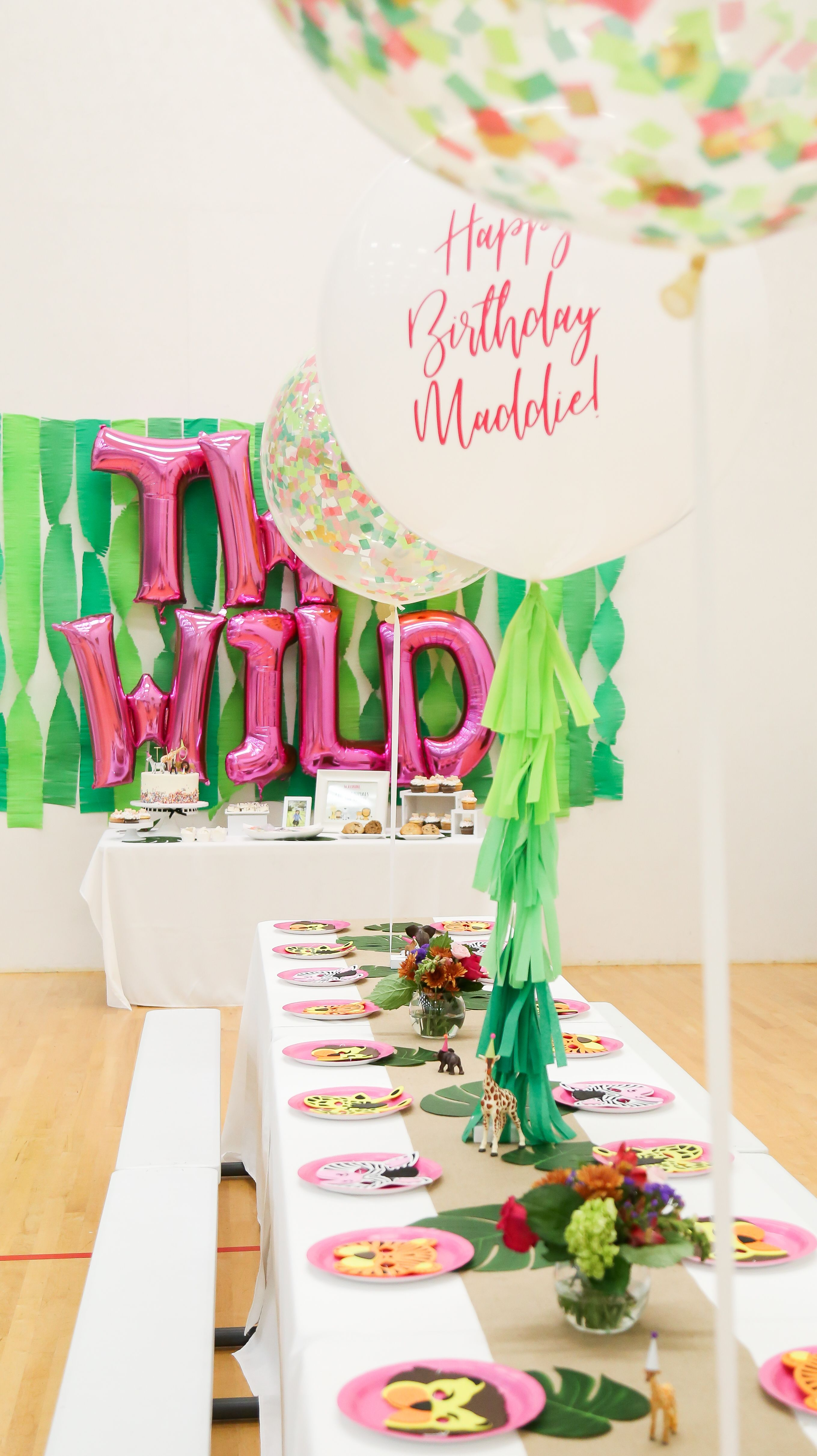 Mercerized Boxers In 2021 2nd Birthday Party For Girl Wild Birthday Party Wild One Birthday Party