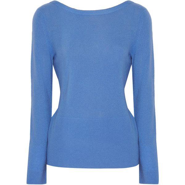 Halston Heritage Draped cashmere sweater (25.105 RUB) ❤ liked on ...