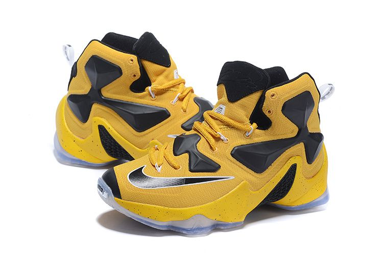 womens nike lebron 13 yellow gold