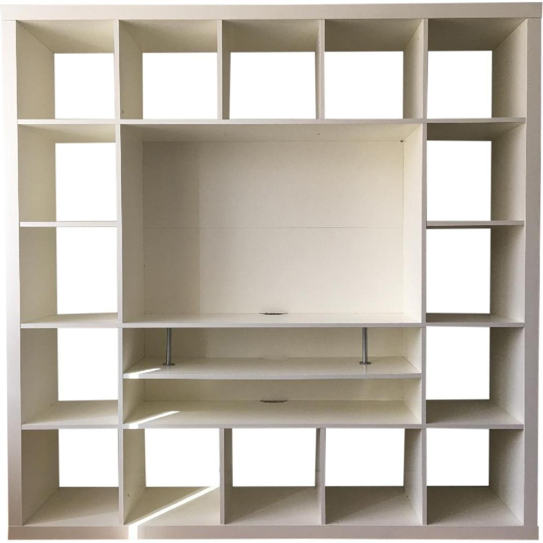 Ikea tv stand w bookcase ridgewood paradise pinterest ikea tv