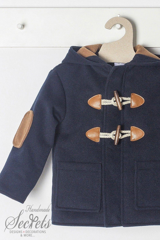 87a54a60ab8 Μπλε σκούρο παλτό μοντγκόμερι για αγόρια της Bambolino, annassecret,  Χειροποιητες μπομπονιερες γαμου, Χειροποιητες