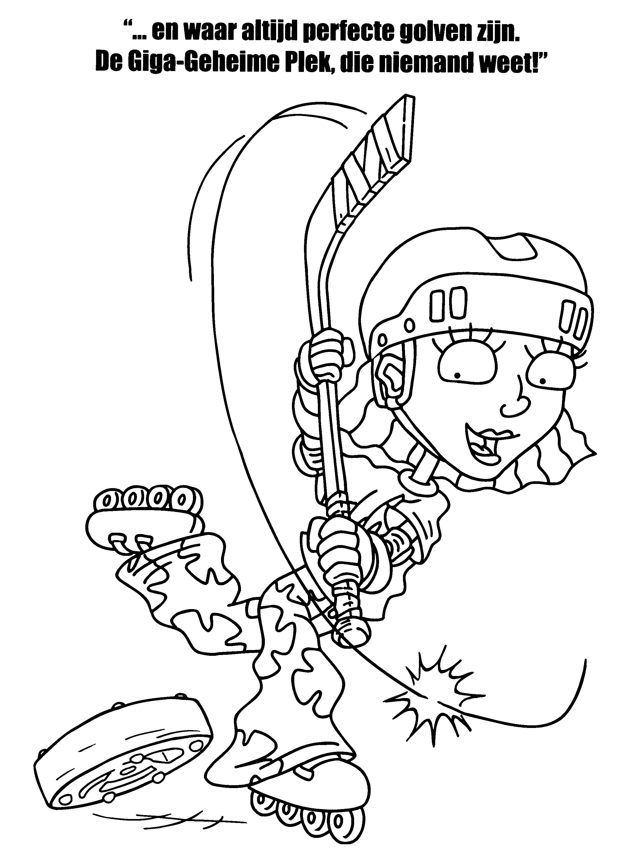 Rocket Power 17 Dibujos Faciles Para Dibujar Para Ninos Colorear Rocket Power Coloring Pages Rocket