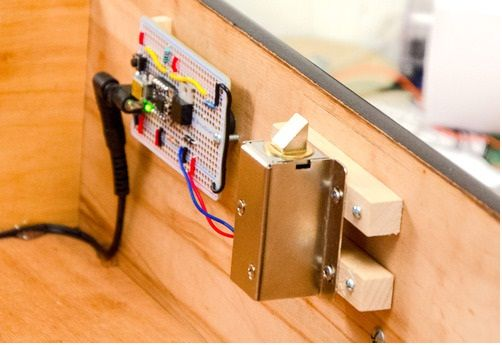Electronic Key Operated Locks In These Locks The Bolt And