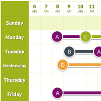 free GANTT chart templates - includes slides w/editable graphics ...