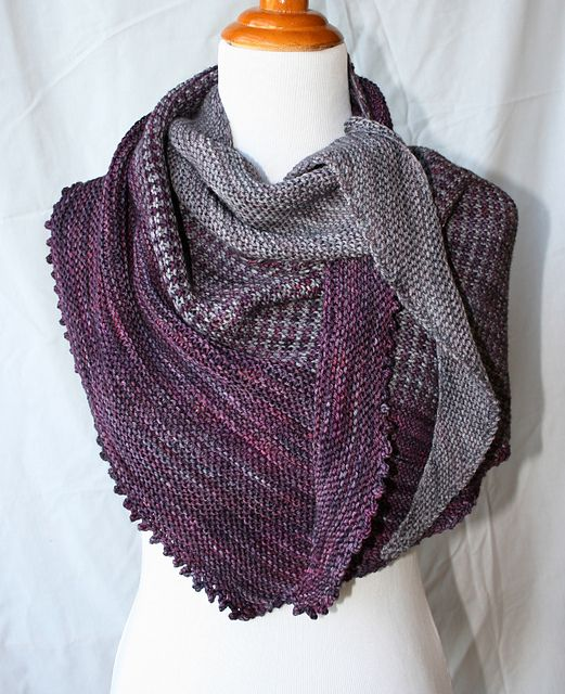 Sundry by Jennifer Dassau malabrigo Arroyo, Plomo and Purpuras ...