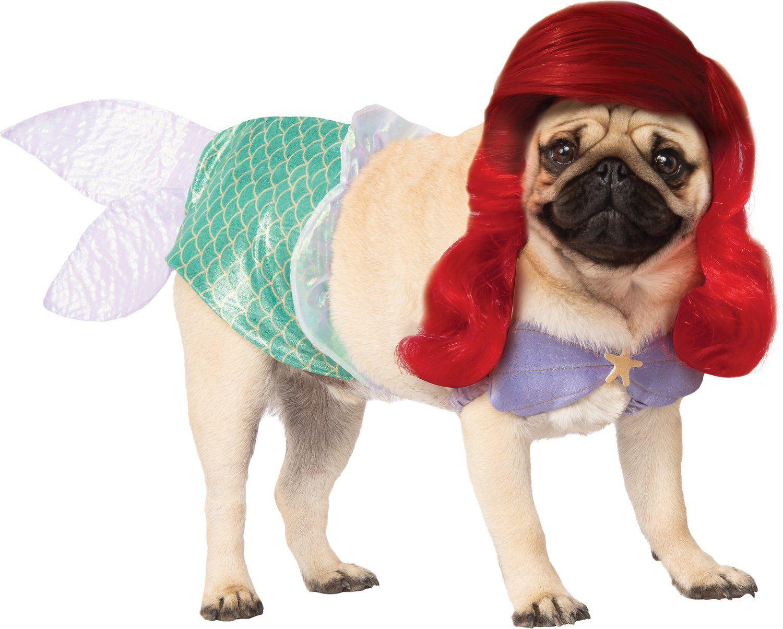 Rubie S Costume Company Ariel Disney Princess Dog Cat Costume X