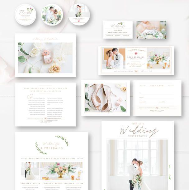 Photographer Branding Templates, Complete Photography Marketing Set