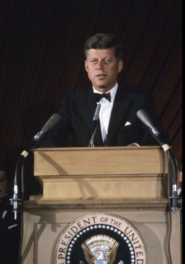 President John F Kennedy And So My Fellow Americans Ask Not