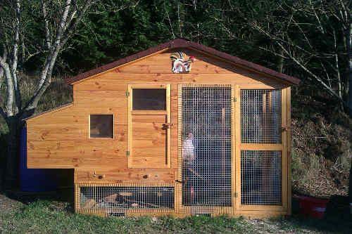 Plan Poulailler 15 Poulaillers A Construire Soi Meme Plans En Pdf Plan Poulailler Construire Un Poulailler Poulailler