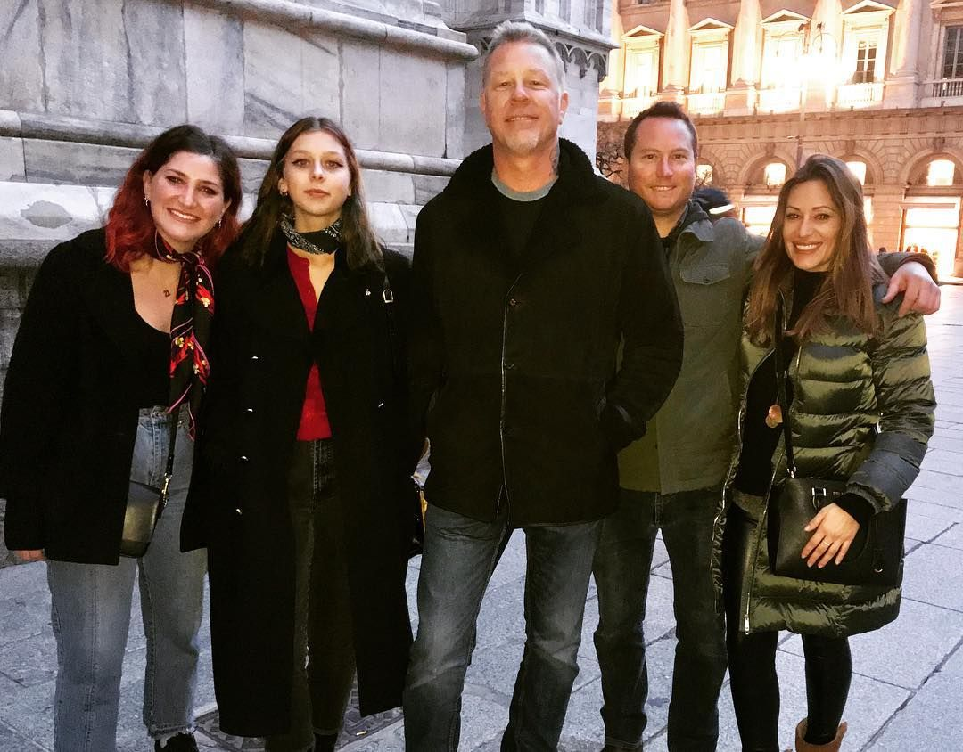 Amazing Private Tour With James Hetfield Of Metallica Cali Amanda