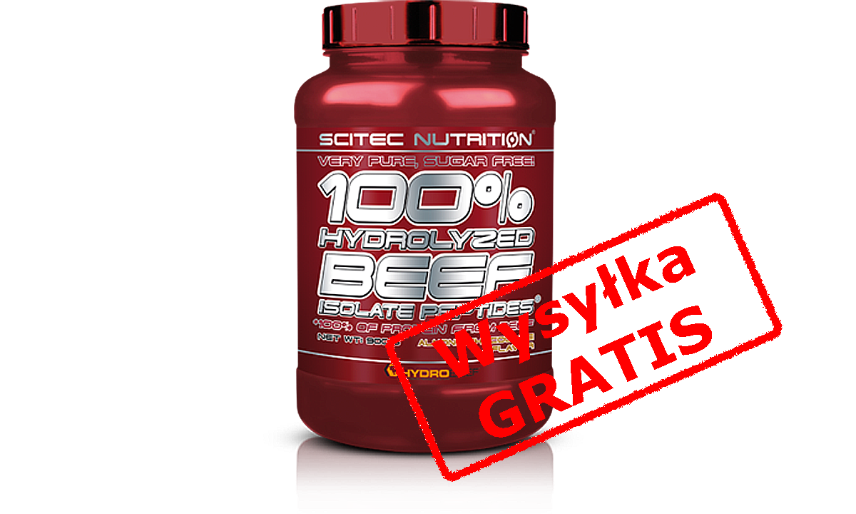 Scitec 100 Hydrolyzed Beef Isolate Peptide 1800g Probka Scitec Nutrition Peptides Beef