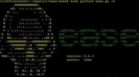 ease is a python script for protocol exploit/vulnerability framework