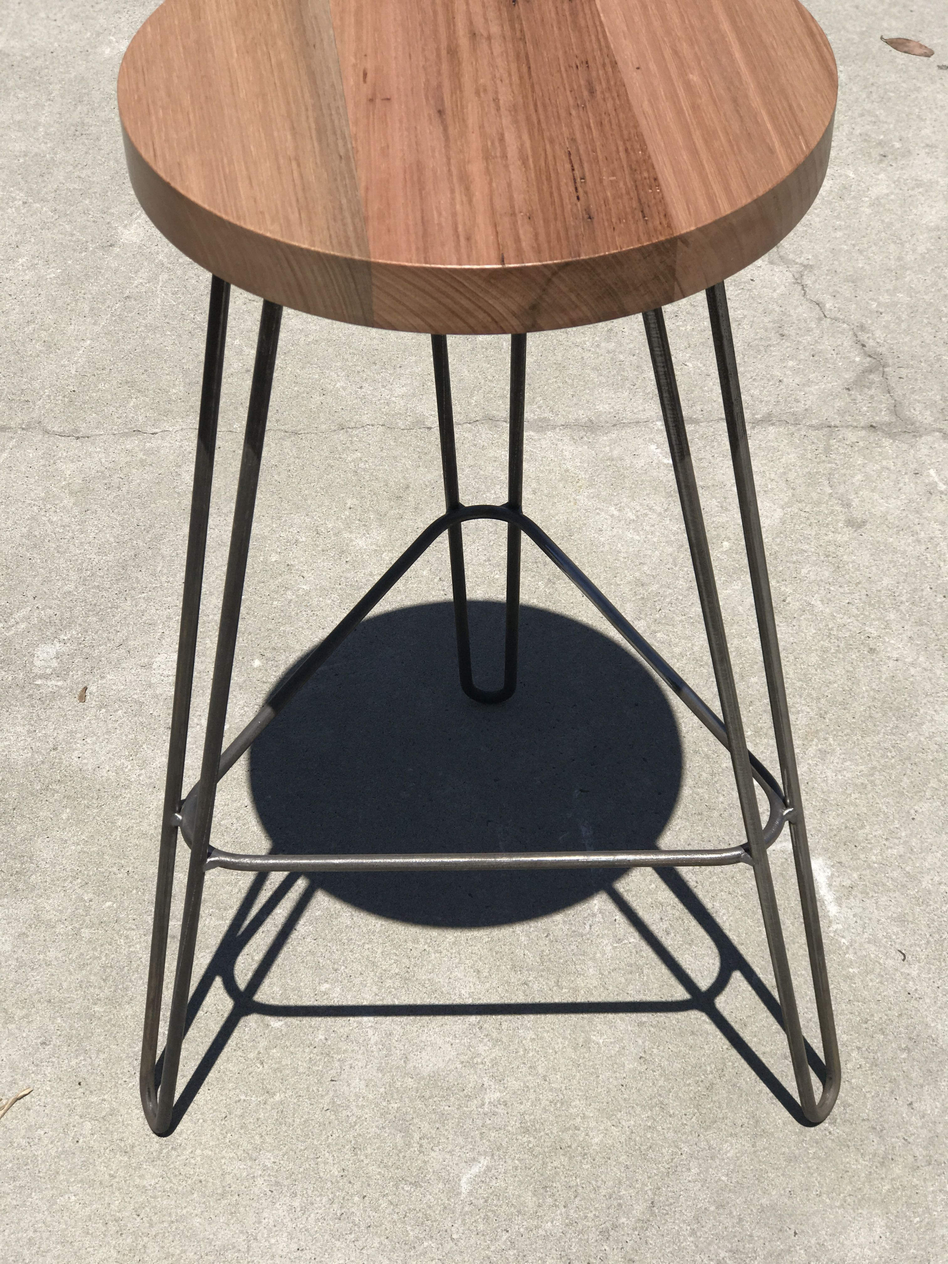 Hairpin Leg Bar Stool Steel Table Legs Oversized Chair Living Room Steel Table
