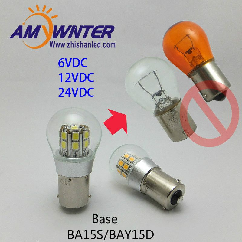 Universe Of Goods Buy Amywnter 1156 Led P21w Dual Intensity 6v Led Bulb Bay15d P21 5w Smd Leds Car Ship Indicator Ligh Indicator Lights Led Bulb Car Lights