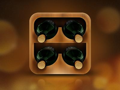 Wine Cellar Management App Icon App Icon Apple Icon App Icon Design