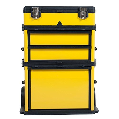Stalwart 75-MJ2096 Rolling Stacking Portable Metal Trolley Tool Box Chest  http://www.handtoolskit.com/stalwart-75-mj2096-rolling-stacking-portable-metal-trolley-tool-box-chest/