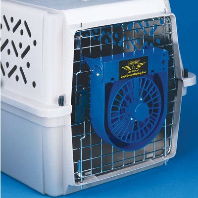 Metro Air Force Crate Cooling Fan Cooling Fan Pet Crate Dog Crate