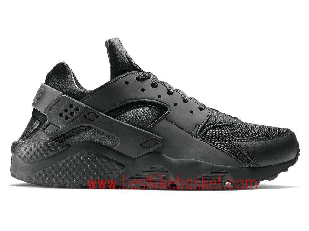 nouveau concept 33504 6cce9 Nike Air Huarache (Nike Urh) Homme black silver 704830_002 ...