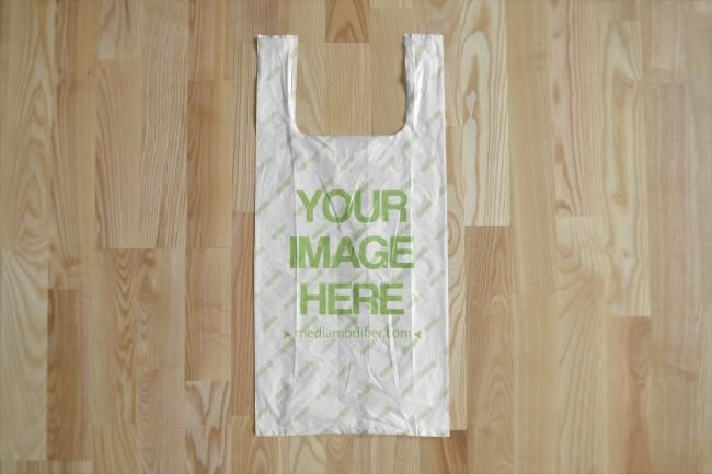 Download Create Your Own Plastic Bag Design Online Online Mockup Template With A Flat Blank Plastic Bag On Wood Floor Backgro Bag Mockup Plastic Bag Plastic Bag Design