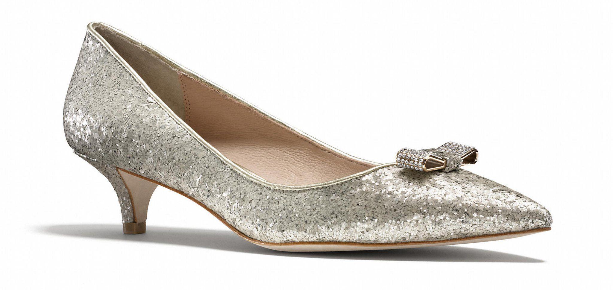 Silver Kitten Heels | Kitten heels, Heels, Silver kitten heels
