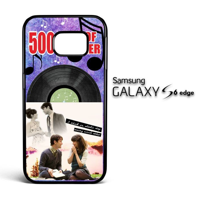 500 Days Of Summer Y2561 Samsung Galaxy S6 Edge Case
