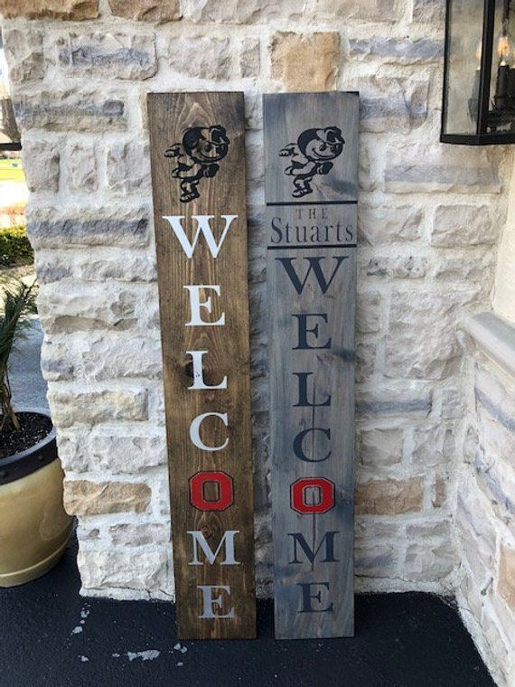 Buckeye Welcome Sign - OSU Welecome Sign - Welcome Sign - Brutus Welcome Sign - OSU - Buckeye..., #Brutus #Buckeye #collegegamedaycaptions #collegegamedaycold #collegegamedayfootball #collegegamedaymakeup #collegegamedaymeme #collegegamedayoutfit #collegegamedaypictures #collegegamedayquotes #collegegamedayshirts #collegegamedaysigns #OSU #sign #Welecome