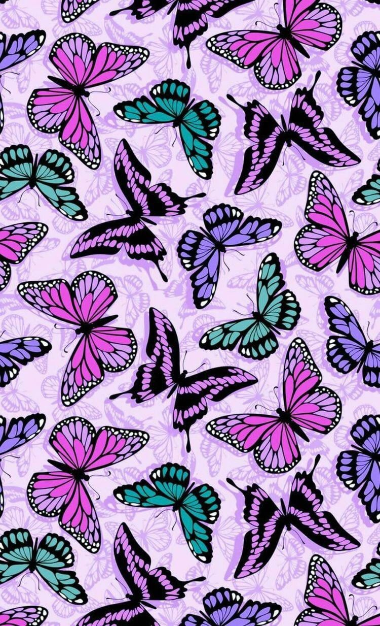 Image About Cute In Pretty Patterns By Butterfly Wallpaper Iphone Butterfly Wallpaper Backgrounds Butterfly Wallpaper
