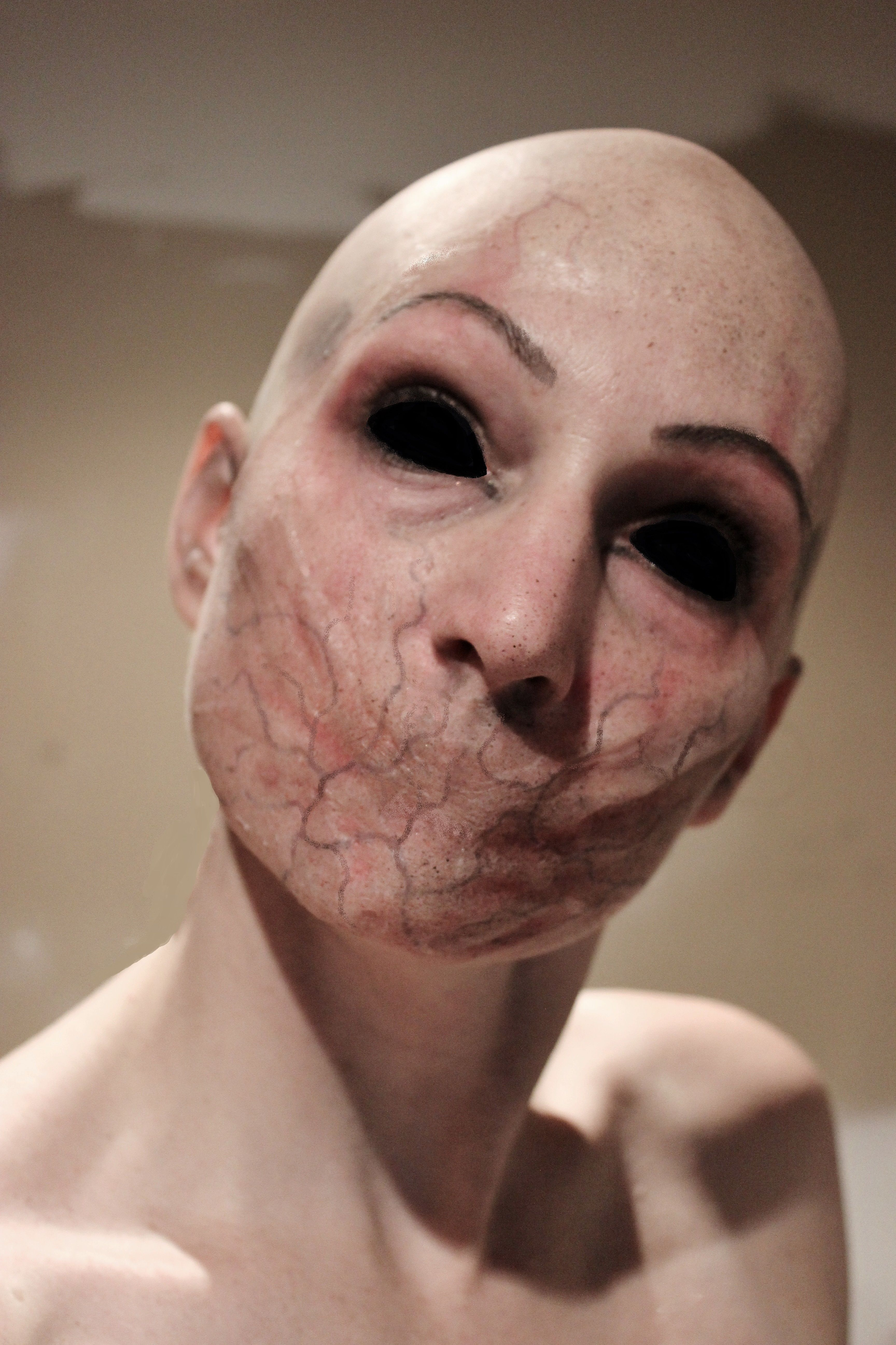 Creepy FX makeup by Rhonda Causton(Reel Twisted FX) | Halloween ...