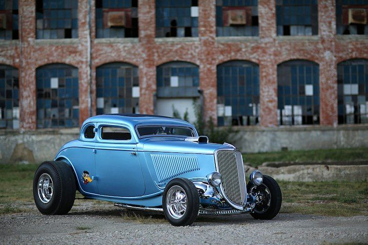 Gas Monkey Garage Teams With Bass Kustom For A Hemi Powered Drag Inspired 34 Ford 1934 Ford Coupe 34 Ford Hot Rods