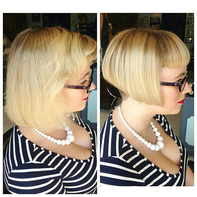 hair styles for with glasses we are a bit obsessed with kickarse bobs go shorter 6716