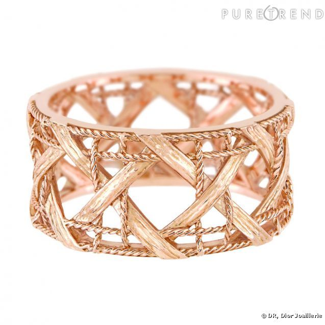PHOTOS - Bague My Dior Bague en or rose.   bijoux   jewelry ... a49281cdfb6
