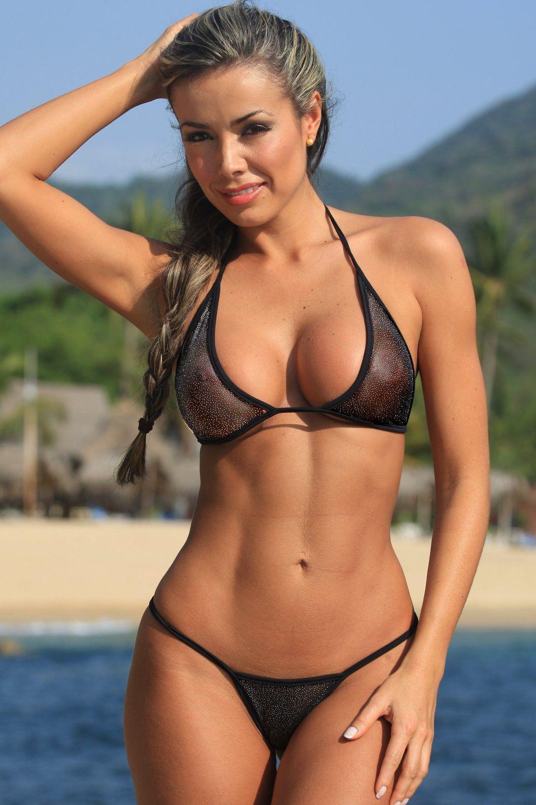 Bikini Mom see through