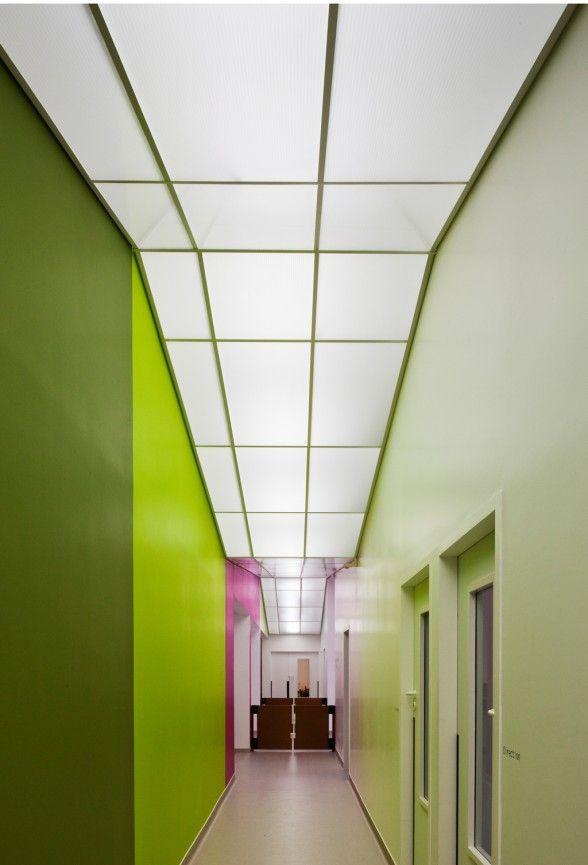 Hospital Corridor Lighting Design: Lovely Interior Decorating School