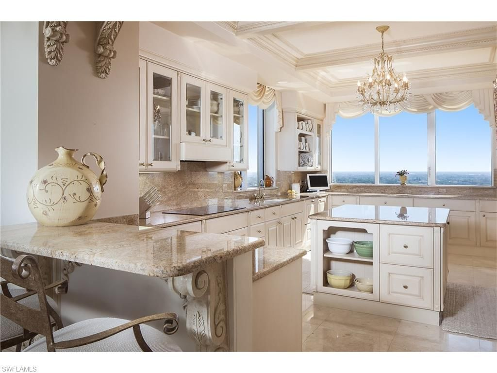 Captivating 6597 Nicholas Blvd PH 25, Naples, FL 34108 | Creamy Dreamy Kitchen In