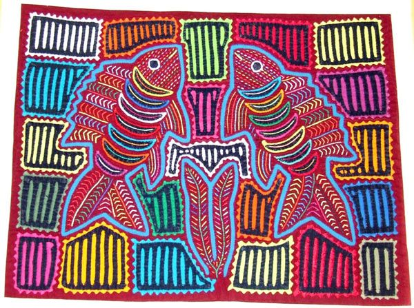 smART Class: Panamanian Molas and a special artist! | Art lesson ...