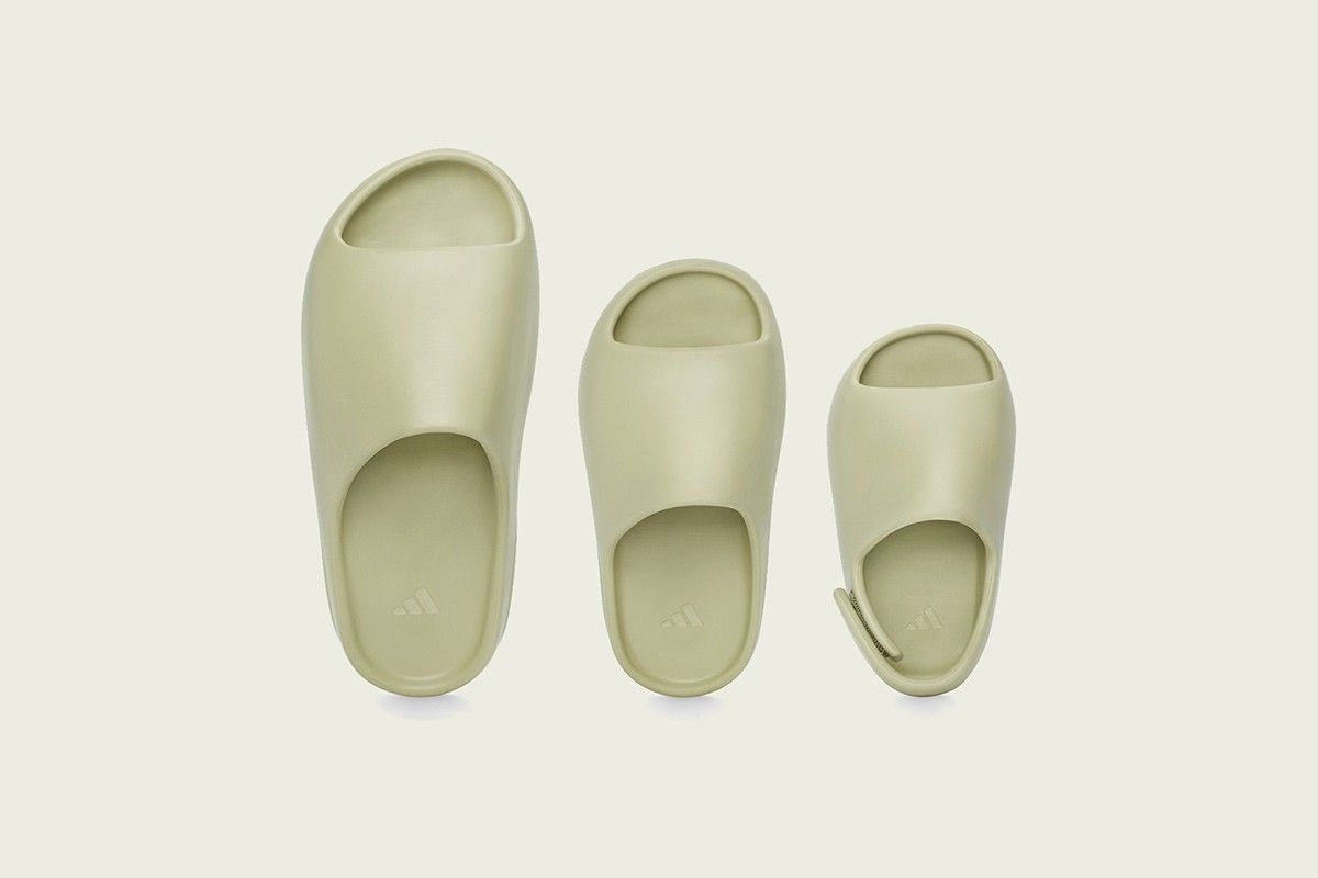 Kanye West S Adidas Yeezy Slides Are Available Today In 2020 Yeezy Kanye West Adidas Yeezy Adidas Yeezy