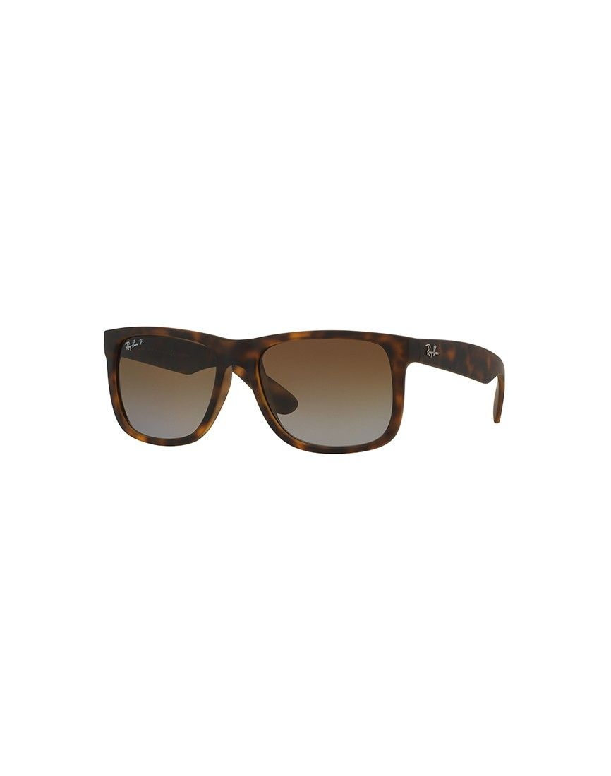 dcab54dc8 Ray-Ban Justin Sunglasses Brown | Shop men's sunglasses and clothing at The  Idle Man