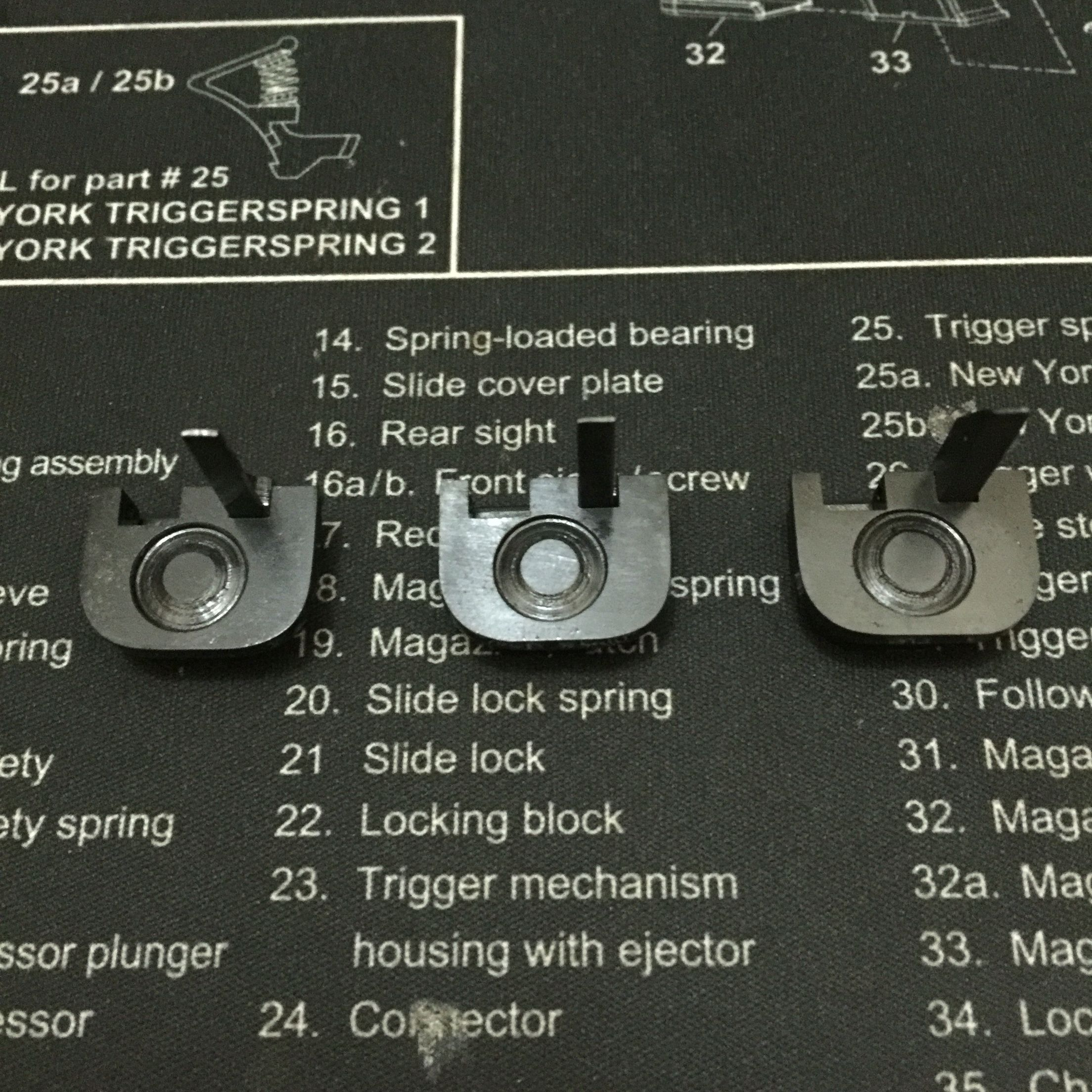 hight resolution of glock selector switch the kits are made of 41 40 steel will fit any model
