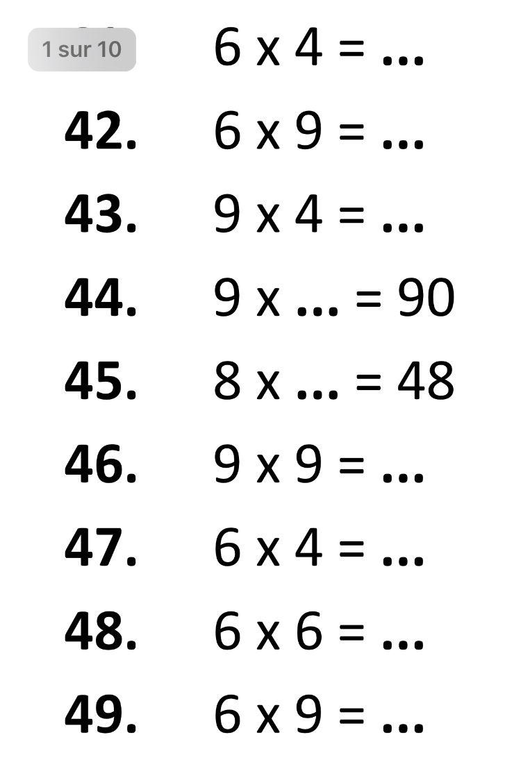 Pin By Bentyussef On Maths Multiplication Math Multiplication Math Multiplication